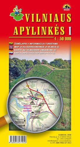 Vilniaus Apylinkes 1 (litouwen) 1:50.000