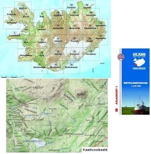 Atlaskort 1 Reykjanesskagi
