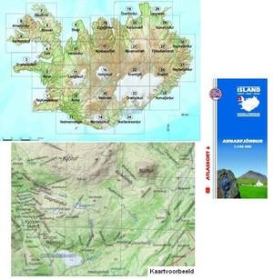 Atlaskort 6 Arnarfjördur