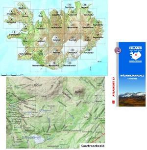 Atlaskort 17 Nyjabaejarfjall 1:100d 17 Mm