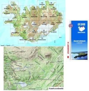 Atlaskort 19 Oxarfjordur 1:100d 19 Mm