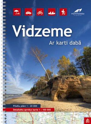 Vidzeme (Noord-Letland) regionale toeristische atlas sp.
