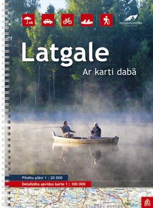 Latgale (Oost-Letland) regionale toeristische atlas sp.