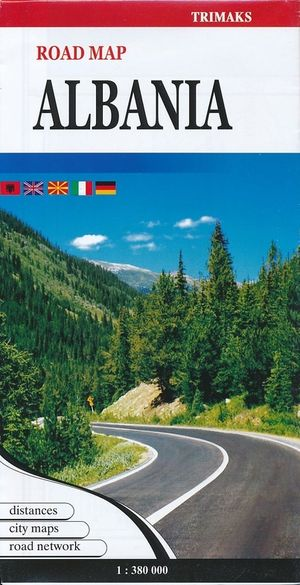 Wegenkaart Albanie 1:380.000 Trimaks