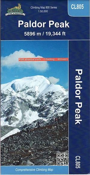 Paldor (bhrange) Peak Map 1:50.000