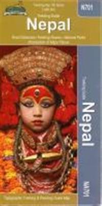 Na701 Nepal Trekking Map 1:950d- Nepa