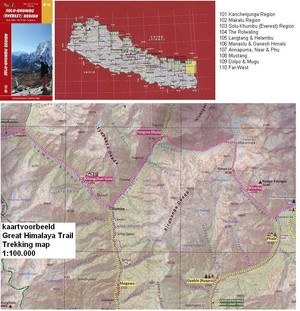 Np103 Solu-khumbu (everest) Region 1:100.000 Trekking Map
