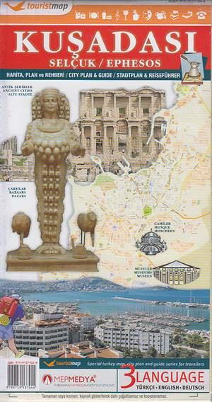Kusadasi Selcuk Ephesos Citymap & Guide