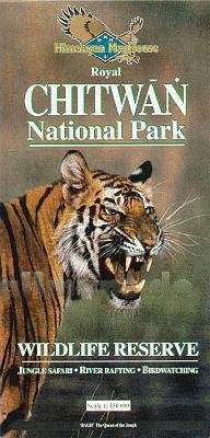 Nr753 Royal Chitwan National Park 1:125.000 Hmh