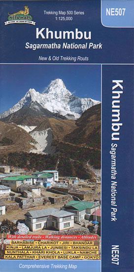 Ne507 Khumbu Sagarmatha Np 1:125d