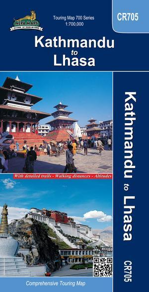 Cr705 Kathmandu To Lhasa 1:700.000