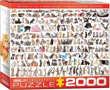 Eurographic - world of cats- puzzel 2000st
