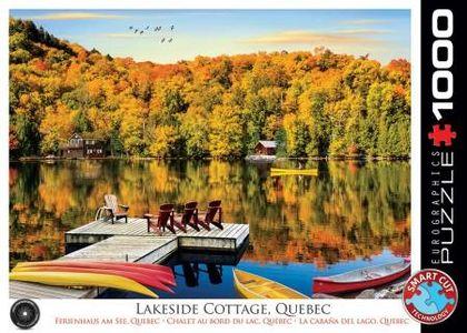 Eurographics lakeside cottage puzzel 1000st