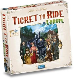 Ticket to ride europe 15 jaar editie