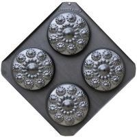 Zeeuwse knop 4 bakvormpjes in een doos