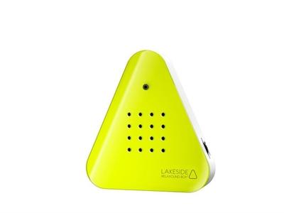 Lakeside relaxound box neon yellow