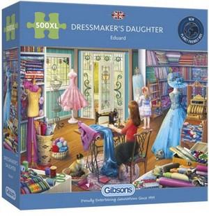 Gibsons dressmaker's daughter puzzel 500stxl