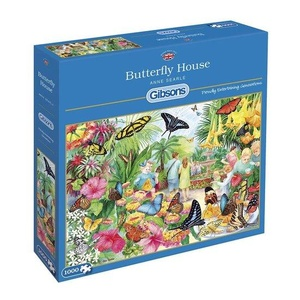 Gibsons butterfly house puzzel  1000st
