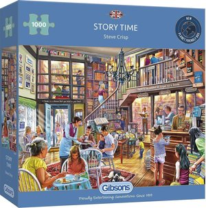 Gibsons story time  puzzel 1000st