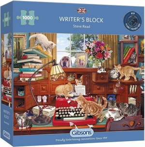 Gibsons puzzle writers block - 1000st