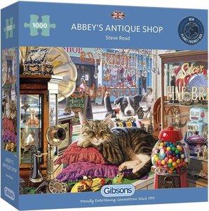 Gibsons abbey's antique shop puzzel 1000st