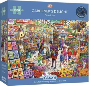 Gibsons gardener's delight puzzel 1000st