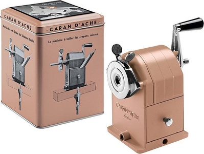 Caran d'ache matterhorn limited sharpener rose gold