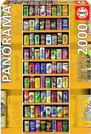 Educa - soft cans - puzzel 2000st
