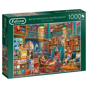 Falcon an afternoon in the bookshop puzzel 1000st