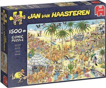 Jan van haasteren - de oase- puzzel 1500st