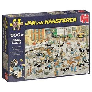 JAN  VAN HAASTEREN - VEEMARKT - 1000st puzzel