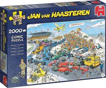 Puzzel jan van haasteren 2000st formule 1 de start