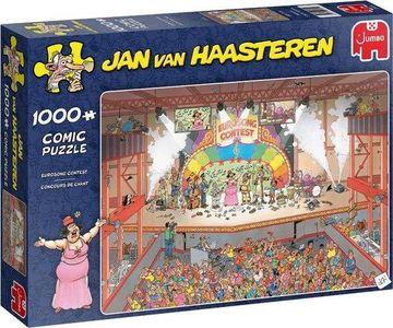 Jan van haasteren - eurosong contest- puzzel 1000st
