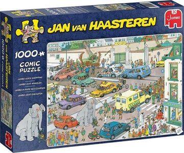 Van haasteren - jumbo gaat winkelen- puzzel 1000st