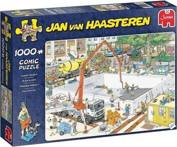 Jan van haasteren - bijna klaar- puzzel 100st
