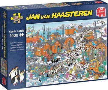 Jan van haasteren - expeditite zuidpool- puzzel 1000st