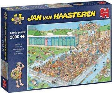 Jan van haasteren -bomvol bad - puzzel 2000st