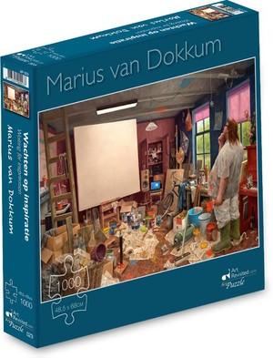 Marius van dokkum - wachten op inspiratie -  puzzel 1000 stukjes