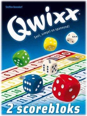 Qwixx bloks (extra scorebloks)