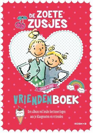 De zoete zusjes vriendenboekje