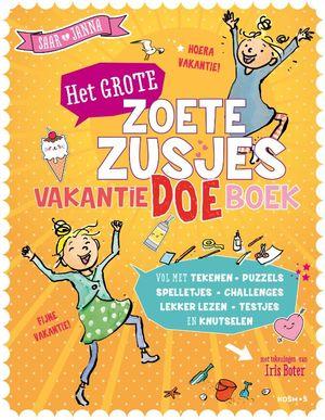 Het grote Zoete Zusjes vakantiedoeboek