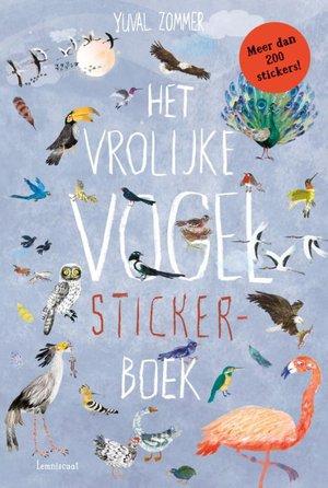 Het vrolijke vogel stickerboek