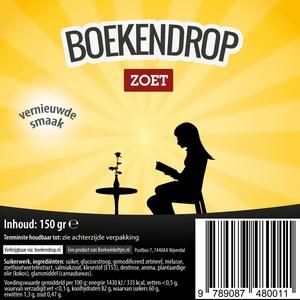 Boekendrop, doos met 30 zakjes a 150 gram drop