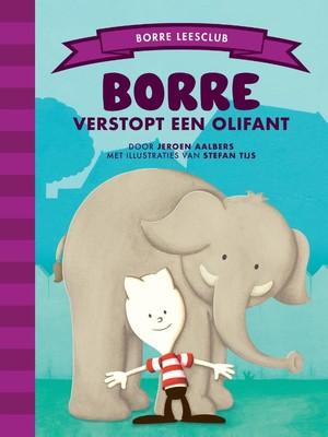 Borre verstopt een olifant
