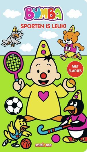 Bumba : kartonboek met flapjes (lang) - Sporten is leuk!