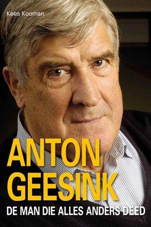 Anton Geesink, portet van een dwarsligger