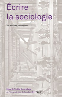 Écrire la sociologie