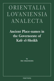 Ancient Place-Names in the Governorate of Kafr el-Sheikh