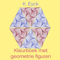 Kleurboek met geometrie figuren