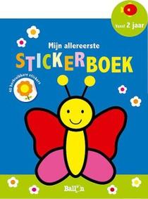 Mijn allereerste stickerboek (vlinder)